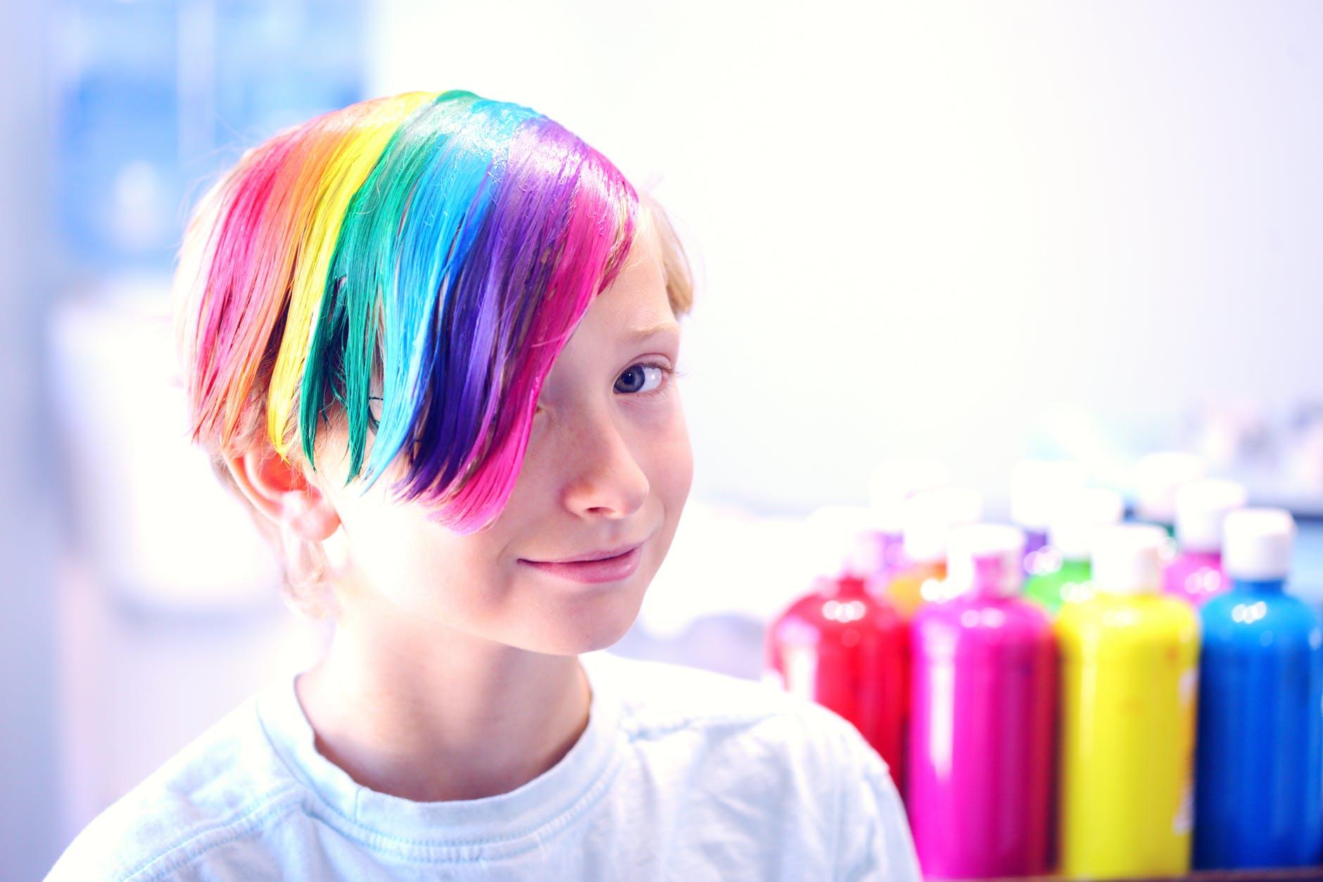 Nhuộm tóc sau hóa trị