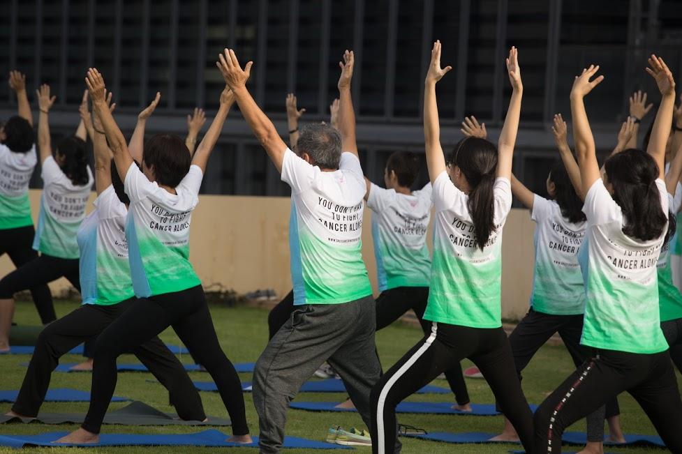 Lợi ích của việc tập thể dục với bệnh nhân ung thư